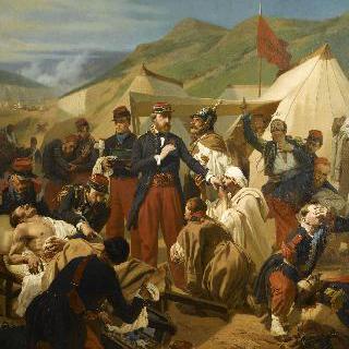 1854년 크리메 전쟁 시의 인케르만 전투