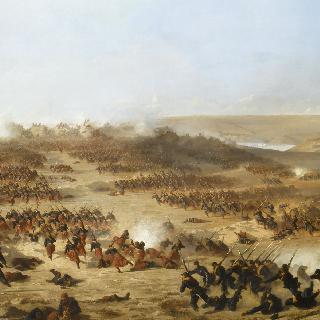 1855년 크리메 전쟁 동안의 세바스토폴 공격