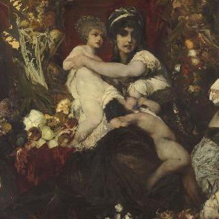 풍요의 여신 아분단티아 : 땅의 선물