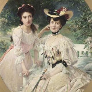 콜라스 부인과 그녀의 딸
