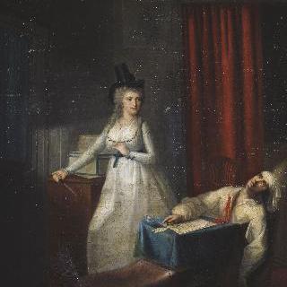 1793년 7월 13일 마라의 죽음