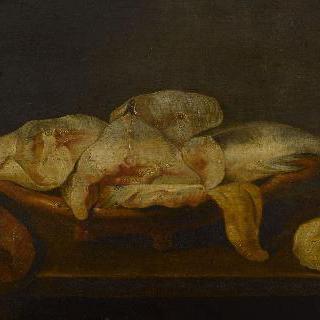진열대의 생선
