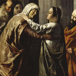 성 엘리자베스를 방문한 성모 마리아