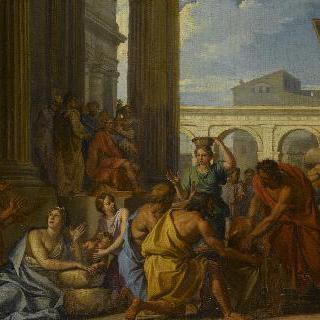 로마 민족에게 밀을 나누어 주는 알렉산드르 세베르