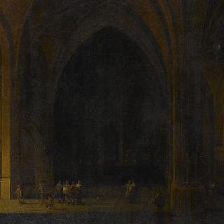 고딕양식 교회의 내부