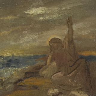 예루살렘에서 우는 그리스도 (초안)