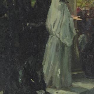 기도하는 터키 여인
