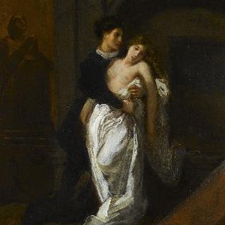캐플릿 가 무덤 앞의 로미오와 줄리엣