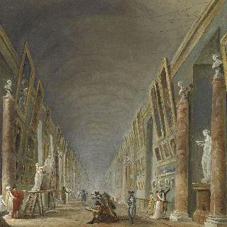 1801년부터 1805년 사이의 대회랑 (그랑드 갤러리)