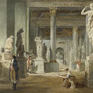 1802-1803년 경, 루브르의 살 데 세종
