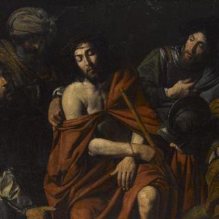 군인들에게 모욕 당하는 예수