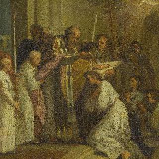 성 아우구스티누스의 세례
