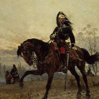 용기병의 대위