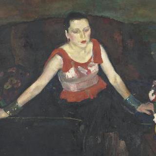 D 부인의 초상