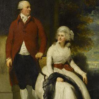 존 줄린스 앤거스테인 부부, 은행가이자 소장가와 그의 두번째 부인