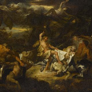 켄타우로스와 싸우는 헤라클레스