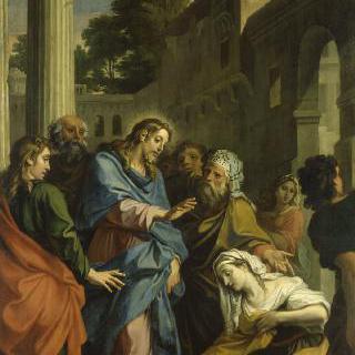 그리스도와 출혈증에 걸린 여인