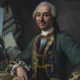 기욤 마리 드 로니비낭 드 피레의 초상