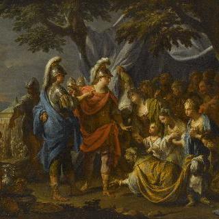 알렉산더 대왕에게 엎드린 다리우스 가족