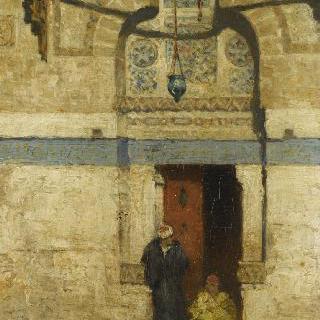 카이로, 무라드 베이의 묘지의 입구
