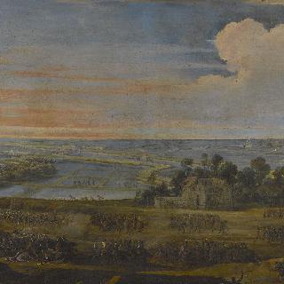 1627년 11월 8일 일 드 레 지방, 프랑스 군대에게 패배한 영국인들