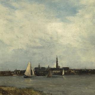 안트베르펜 풍경 (안트베르펜 항구)