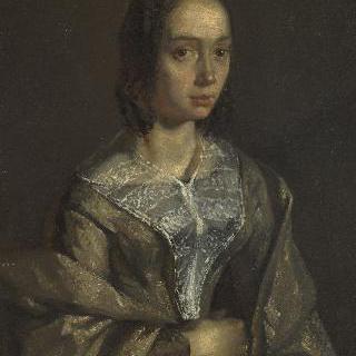 폴린 오노의 누이, 화가의 첫번째 부인 외젠 펠릭스 르쿠르투아