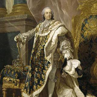 루이 15세의 초상, 프랑스 왕(1710-1774)
