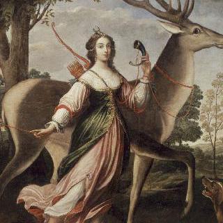 마리 드 로앙 드 몽바종의 초상, 륀 공작부인