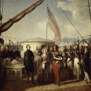 루이-필립과 빅토리아 여왕의 회담
