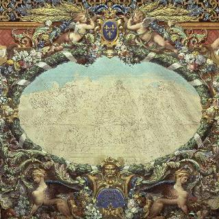 1837년 6월, 베르사유 미술관 창립에 관한 우화 (카펫을 위한 초안)