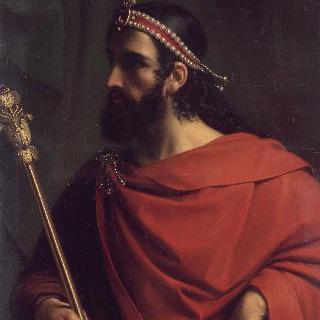 파리의 프랑크 제국과 골루아 남부 지방의 왕 카리베르