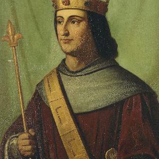 프랑스 왕 필립 6세 (드 발루아)의 1328년 초상 (1293-1350)