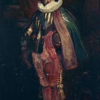 륀의 공작 샤를 달베르 (1578-1621), 총사령관, 왕실 매사냥 관리관