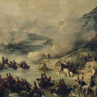 베르넥 장군의 부대를 상대로 디어스도르프 전투에서 승리를 거둔 호쉬 장군