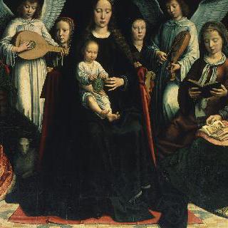 성인들과 성모 마리아