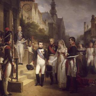틸시트에서 열린 나폴레옹 1세와 루이즈 드 프뤼스 여왕의 대담, 1807년 7월 6일