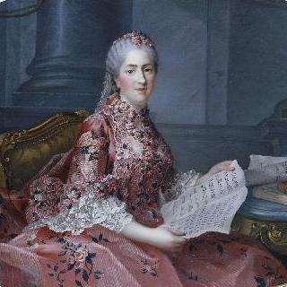 소피 부인의 초상 (루이 15세의 딸)