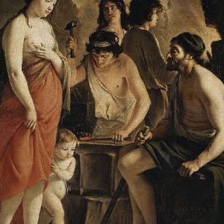 불카누스의 대장간에 있는 비너스