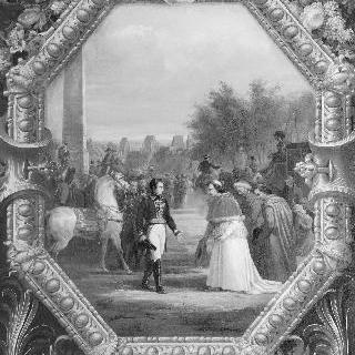 나폴레옹 1세와 파이 7세의 퐁텐블로 숲에서의 대담 (1804년 11월 26일)
