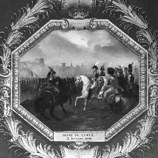 린츠 지방을 점령한 프랑스 군대, 1805년 11월 3일