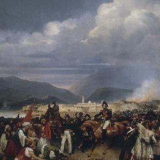 1828년 10월 30일, 메종 장군에 의해 점령된 모레 성