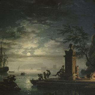 하루의 4부분 :  밤 (청명한 달빛)
