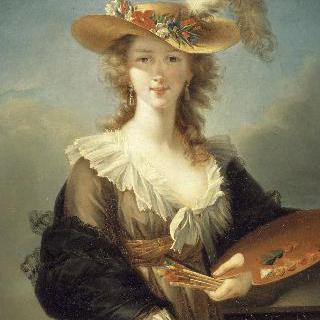 화가, 비제 르 브랭 마리 루이즈 엘리자베스의 초상