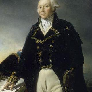 1792년 모젤 군대장 프랑수아-크리스토프 켈레르만 (1735-1820)