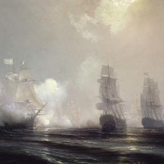 요크타운 점령의 일화, 체서피크 만 앞에서 벌어진 해전, 1781년 9월 3일
