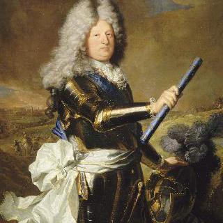 갑옷을 입은 황태자 루이 드 프랑스 의 초상, 루이 14세의 아들(1661-1711)