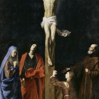 십자가를 진 그리스도, 성모, 막달라 마리아, 성 요한과 성 뱅상 드 폴