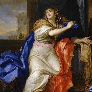 삶의 모든 헛된 것들을 포기하는 회개하는 성녀 막달라 마리아