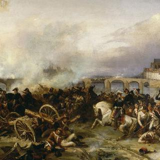 1814년 2월 18일, 몽트로 전쟁
